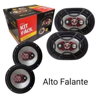 Comprar o produto de Auto falante Automotivo em Som Automotivo em Botucatu, SP por Solutudo