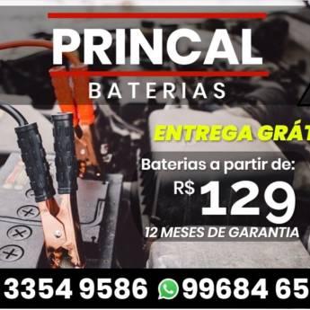 Comprar o produto de baterias em Baterias pela empresa Princal Baterias - Loja 1 em Botucatu, SP por Solutudo