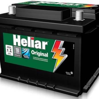 Comprar o produto de Bateria Heliar 60AH ORIGINAL  em Baterias em Botucatu, SP por Solutudo