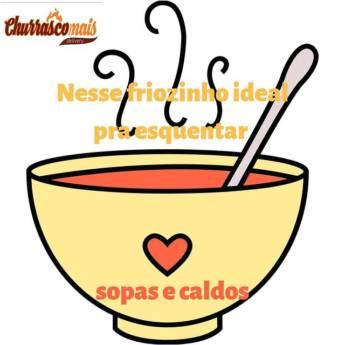 Comprar o produto de Caldos e Sopas em Sopas e Caldos pela empresa ChurrascoMais Delivery em Botucatu, SP por Solutudo