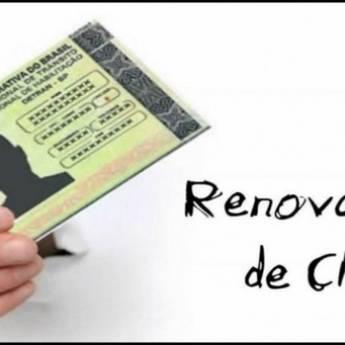 Comprar produto renovação de CNH em Despachantes pela empresa Fercal Despachante em Botucatu, SP