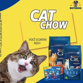 Comprar o produto de CAT CHOW  em Ração para Gatos em Botucatu, SP por Solutudo
