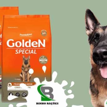 Comprar o produto de Ração Golden Especial em Ração para Cachorros em Botucatu, SP por Solutudo