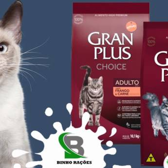Comprar o produto de Ração Gran Plus para Gatos em Ração para Gatos em Botucatu, SP por Solutudo