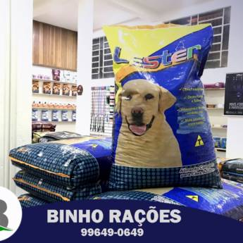 Comprar o produto de Ração Lester em Ração para Cachorros em Botucatu, SP por Solutudo