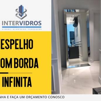 Comprar o produto de Espelho Borda Infinita em Vidros e Espelhos em Foz do Iguaçu, PR por Solutudo