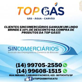 Comprar o produto de Desconto de 10% para Conveniados em Gás em Botucatu, SP por Solutudo