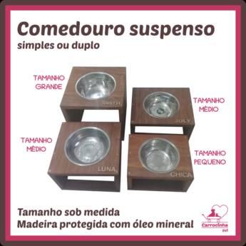 Comprar o produto de Comedouro Suspenso  em Bebedouros e Comedouros em Botucatu, SP por Solutudo