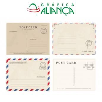 Comprar o produto de Postais Personalizados em Gráficas e Impressão em Jundiaí, SP por Solutudo