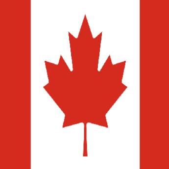 Comprar o produto de Bandeira do Canadá em Bandeiras em Birigui, SP por Solutudo