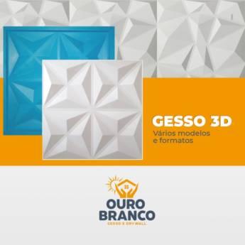 Comprar o produto de Gesso 3D em Revestimento de Parede em Foz do Iguaçu, PR por Solutudo