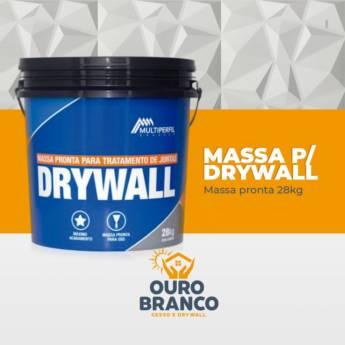 Comprar o produto de Massa para Drywall em Revestimento de Parede em Foz do Iguaçu, PR por Solutudo