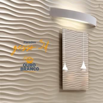 Comprar o produto de Parede em Gesso 3D em Revestimento de Parede em Foz do Iguaçu, PR por Solutudo