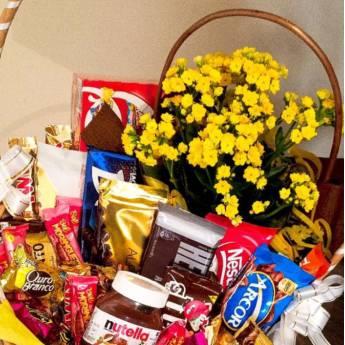 Comprar o produto de Cesta de Chocolate  em Cestas Personalizadas em Botucatu, SP por Solutudo