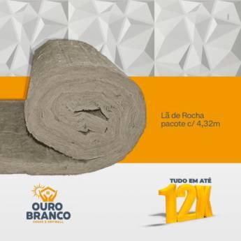 Comprar o produto de Lã de Rocha  em Revestimento de Parede em Foz do Iguaçu, PR por Solutudo