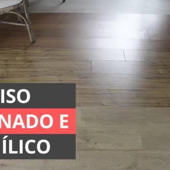 Comprar produto Laminados e Vinílicos em Forros e Divisórias pela empresa Basso Decorações em Botucatu, SP