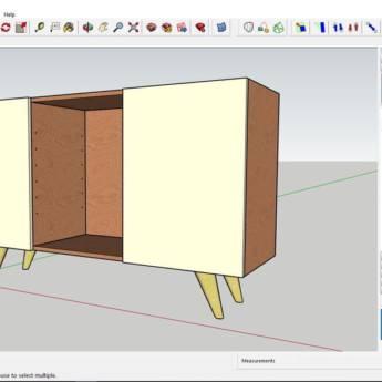Comprar o produto de  softwares de desenho em 3D em Móveis Planejados - Marcenarias em Botucatu, SP por Solutudo