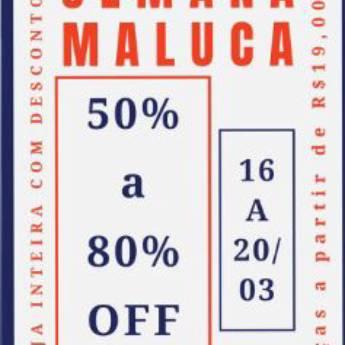 Comprar o produto de SEMANA MALUCA  em Roupas e Acessórios em Botucatu, SP por Solutudo