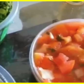 Comprar o produto de  Vinagrete 500gr em Alimentos pela empresa Feijoada do Bola - Delivery em Jundiaí, SP por Solutudo