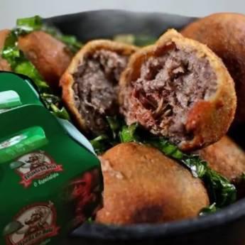 Comprar o produto de Bolinho de Feijoada 6 un. 480gr em Alimentos pela empresa Feijoada do Bola - Delivery em Jundiaí, SP por Solutudo