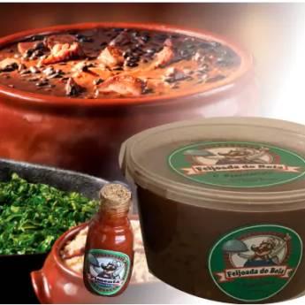 Comprar o produto de Bola Pote: Feijoada no Pote 3kg em Alimentos pela empresa Feijoada do Bola - Delivery em Jundiaí, SP por Solutudo