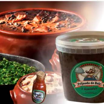 Comprar o produto de Feijoada no Pote 1kg em Alimentos pela empresa Feijoada do Bola - Delivery em Jundiaí, SP por Solutudo
