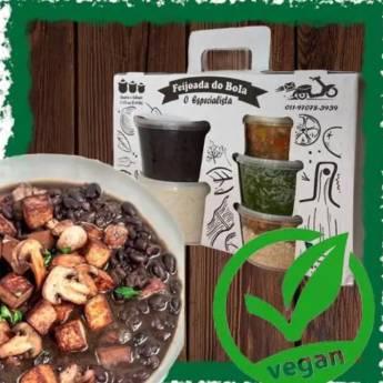 Comprar o produto de Feijoada Vegana Família (3 a 4 pessoas) em Vegetariano | Vegano pela empresa Feijoada do Bola - Delivery em Jundiaí, SP por Solutudo