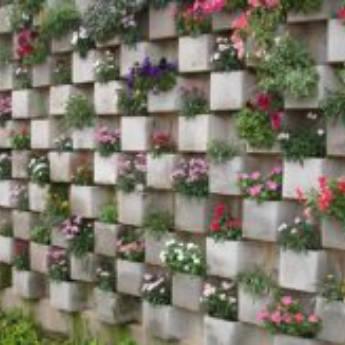 Comprar produto Jardim Vertical de Concreto em Jardim pela empresa Casa do Concreto  em São José do Rio Preto, SP