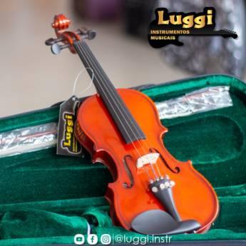 Comprar o produto de Violino Infantil em Instrumentos pela empresa Luggi Instrumentos Musicais em Botucatu, SP por Solutudo