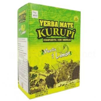 Comprar o produto de Erva Mate Kurupí Composta Menta e Limão 500g em Erva Mate pela empresa Viva Natural  em Foz do Iguaçu, PR por Solutudo