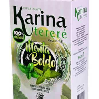 Comprar o produto de Erva Mate para tereré Karina Menta Boldo 500g em Erva Mate pela empresa Viva Natural  em Foz do Iguaçu, PR por Solutudo