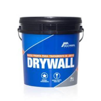 Comprar o produto de Massa Drywall 14kg em Revestimento de Parede em Foz do Iguaçu, PR por Solutudo