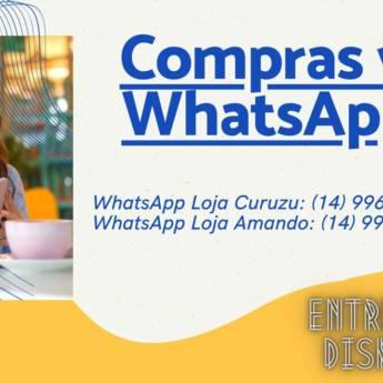 Comprar produto Compras Via WhatsApp em Acessórios para Celulares pela empresa Free Cell - Soluções em Celulares em Botucatu, SP