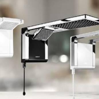 Comprar produto chuveiros em Materiais para Construção pela empresa Pisos, Azulejos & Cia em Botucatu, SP