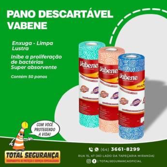 Comprar o produto de Pano descartável vabene! em Higiene e Limpeza pela empresa Total Segurança em Mineiros, GO por Solutudo