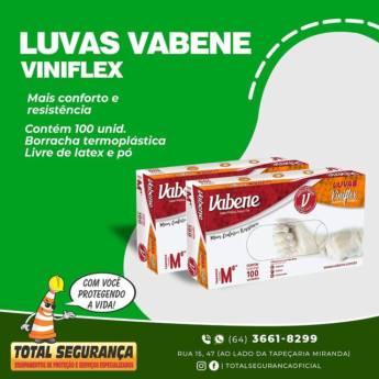 Comprar o produto de Luvas vabene viniflex em Luvas de Procedimentos pela empresa Total Segurança em Mineiros, GO por Solutudo