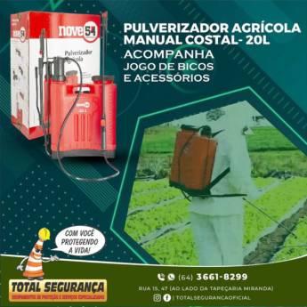 Comprar o produto de Pulverizador agrícola manual de costa em Pulverizador pela empresa Total Segurança em Mineiros, GO por Solutudo