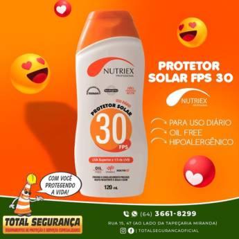 Comprar o produto de Protetor solar FPS 30  em Protetor Solar pela empresa Total Segurança em Mineiros, GO por Solutudo
