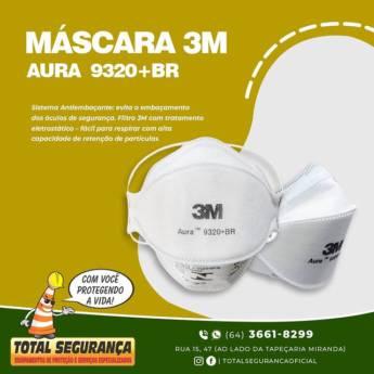 Comprar o produto de Máscara Descartável 3M em Máscaras pela empresa Total Segurança em Mineiros, GO por Solutudo