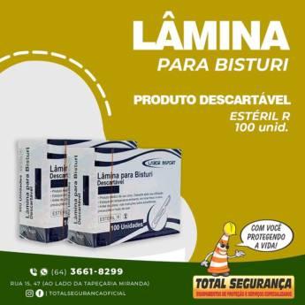 Comprar o produto de Lâmina De Bisturi Labor em Saúde pela empresa Total Segurança em Mineiros, GO por Solutudo