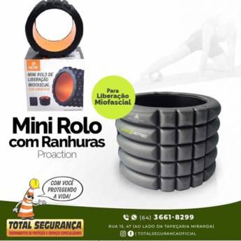 Comprar o produto de Mini Rolo De Liberação Miofascial Com Ranhuras Proation em Saúde pela empresa Total Segurança em Mineiros, GO por Solutudo