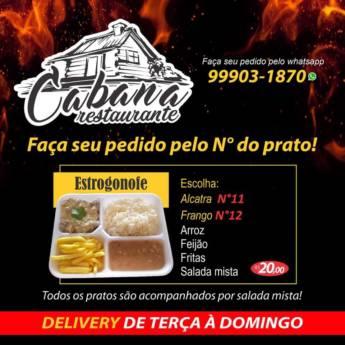 Comprar produto Estrogonofe em Restaurantes pela empresa Cabana Restaurante Delivery em Botucatu, SP