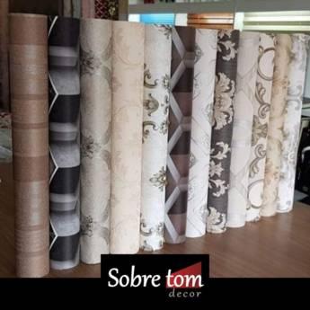 Comprar produto Instalação de Papel de parede em Bauru em Papel de Parede pela empresa Sobre tom decor em Bauru, SP