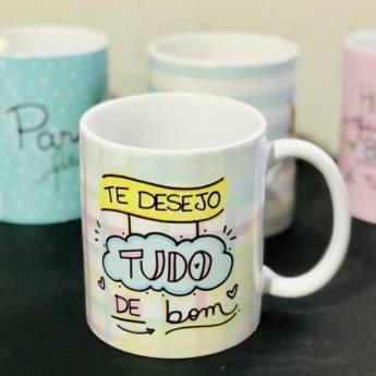 Comprar o produto de Caneca Aniversário em Canecas em Foz do Iguaçu, PR por Solutudo