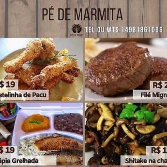 Comprar o produto de Marmitas Pé de Peixe em Marmitarias em Botucatu, SP por Solutudo