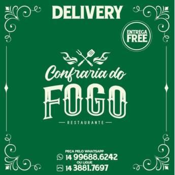 Comprar o produto de Cardápio Delivery Confraria do Fogo em Restaurantes em Botucatu, SP por Solutudo