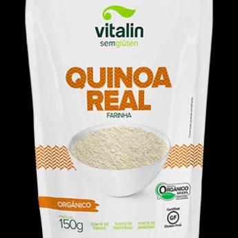 Comprar o produto de Quinoa Real Farinha Orgânico Vitalin em Sem Glúten pela empresa Viva Natural  em Foz do Iguaçu, PR por Solutudo