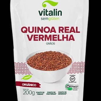 Comprar o produto de Quinoa Real Vermelha Grãos Orgânico Vitalin em Sem Glúten pela empresa Viva Natural  em Foz do Iguaçu, PR por Solutudo