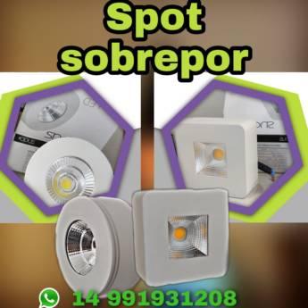 Comprar o produto de Spot Sobrepor em Eletricistas em Botucatu, SP por Solutudo