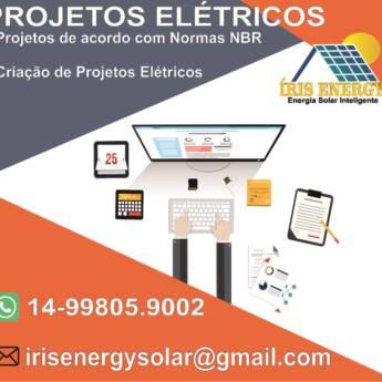 Comprar o produto de Projetos Elétricos em Eletricistas em Botucatu, SP por Solutudo